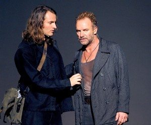 Joe Sumner and Sting