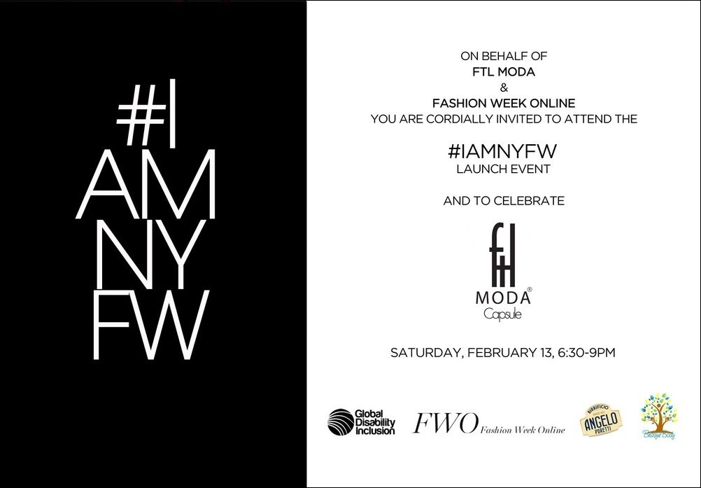 #IAmNYFW Pre-Show Event with FTL Moda and FWO