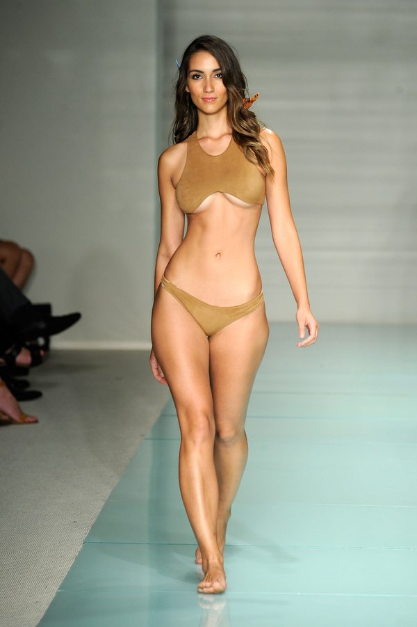 Courtney Allegra At Art Hearts Fashion Miami Swim Week Presented by AIDS Healthcare Foundation