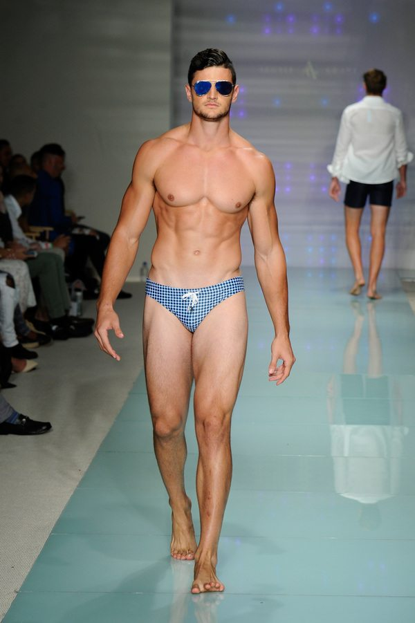 Argyle Grant At Art Hearts Fashion Miami Swim Week Presented by AIDS Healthcare Foundation