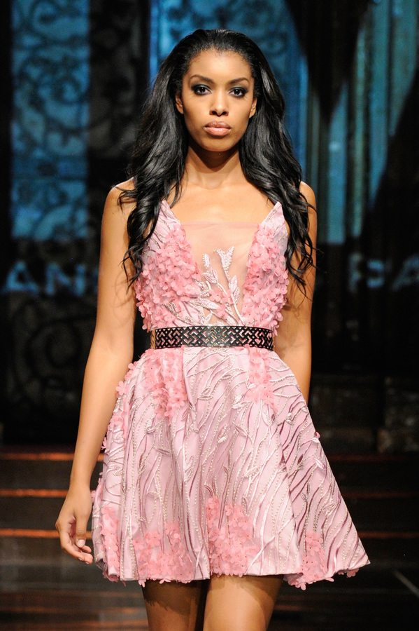 Mimi Tran at Art Hearts Fashion NYFW The Shows Presented by AIDS Healthcare Foundation