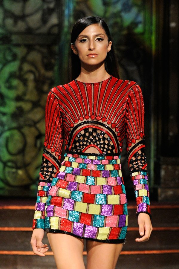 Elie Madi at Art Hearts Fashion NYFW The Shows Presented by AIDS Healthcare Foundation