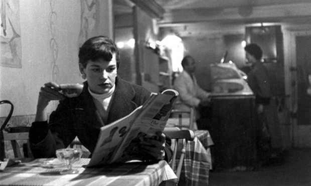 Katherine Whitehorn, who covered Paris fashion shows in the 1950s as editor for The Observer