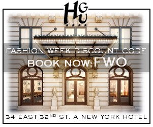 Book Now for #NYFW