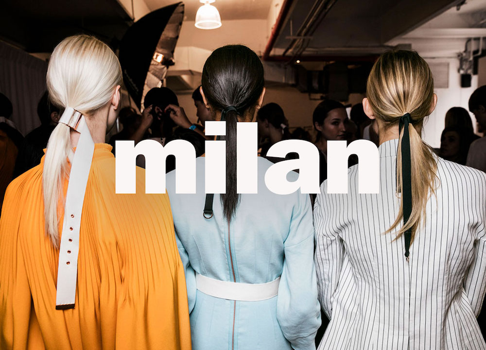 Milan Fashion Week 2017 2018 Highlights Fashion Week
