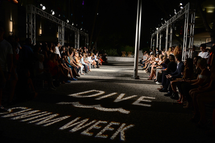 DIVE Swim Week Presents Tankovitz On Lincoln Road
