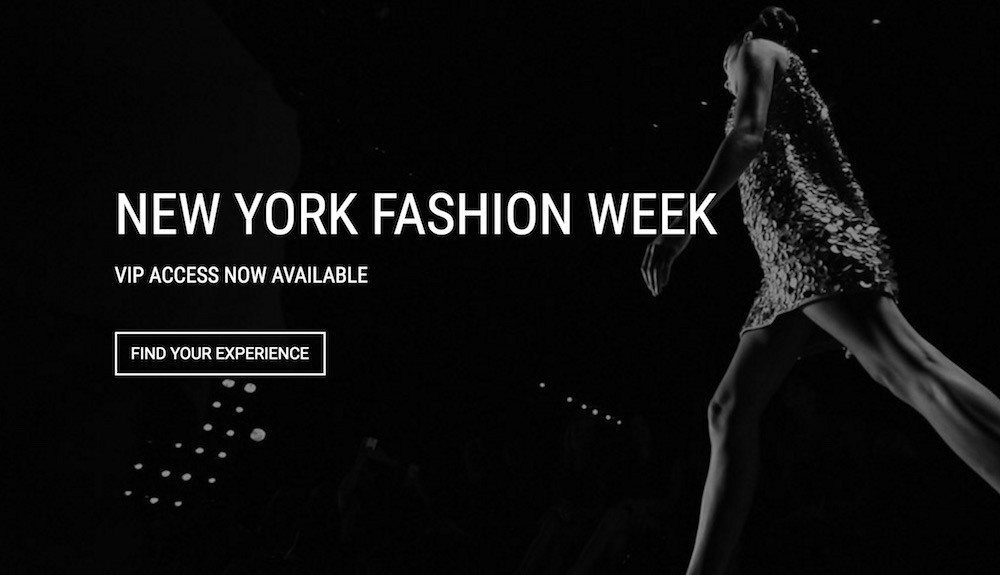 Nyfw The Experience Tickets