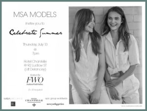 Fashion Week Online & MSA Models