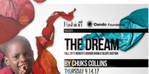 """The Dream"" Benefit Fashion Show and Silent Auction by Chuks Collins"