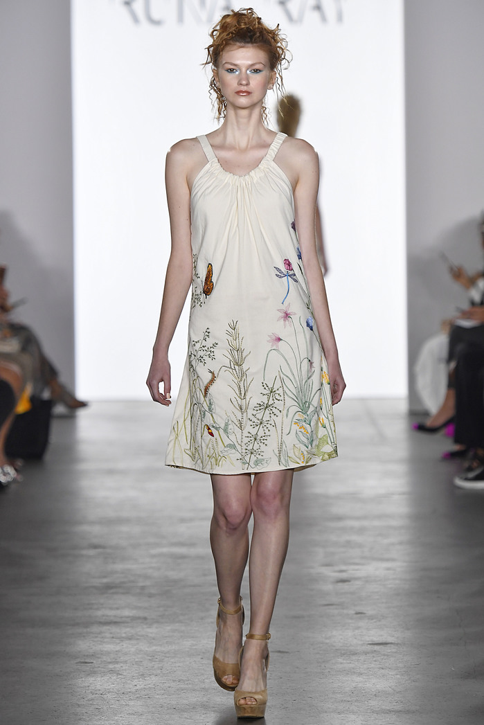 Runa Ray SS18 Collection NYFW: First Stage