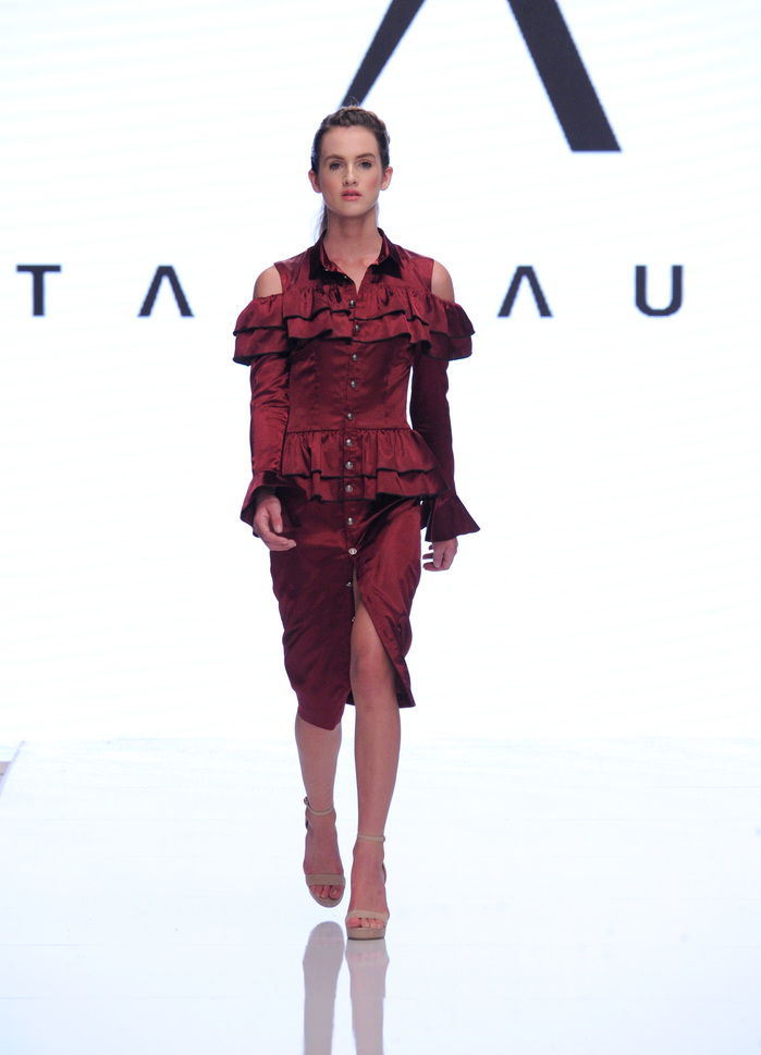 Datari Austin at Los Angeles Fashion Week SS18 Art Hearts Fashion LAFW