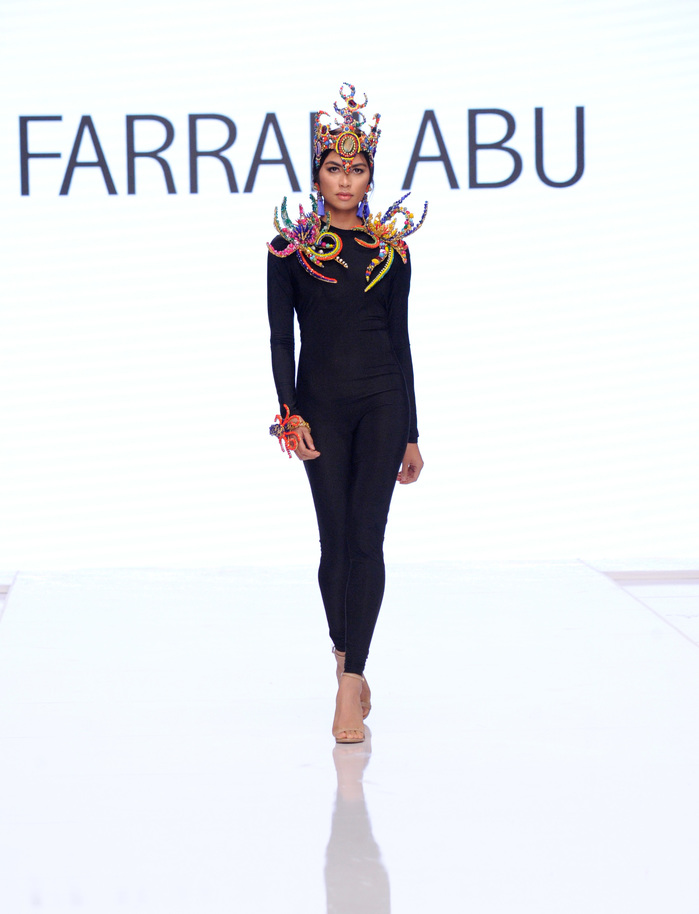 Farrah Abu At Los Angeles Fashion Week SS18 Art Hearts Fashion LAFW