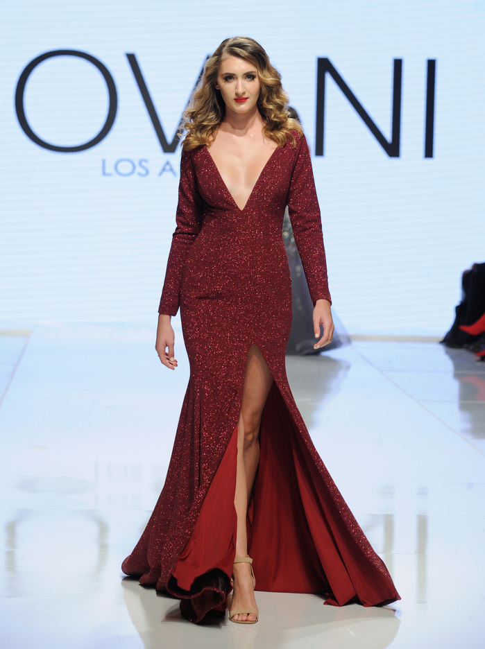 Jovani La At Los Angeles Fashion Week SS18 Art Hearts Fashion LAFW
