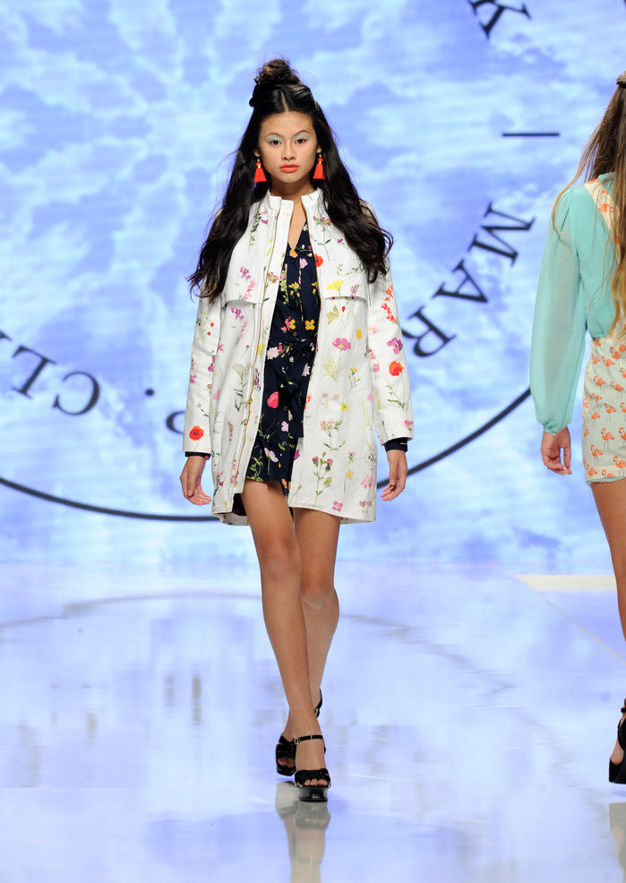Marisa Clark At Los Angeles Fashion Week SS18 Art Hearts Fashion LAFW