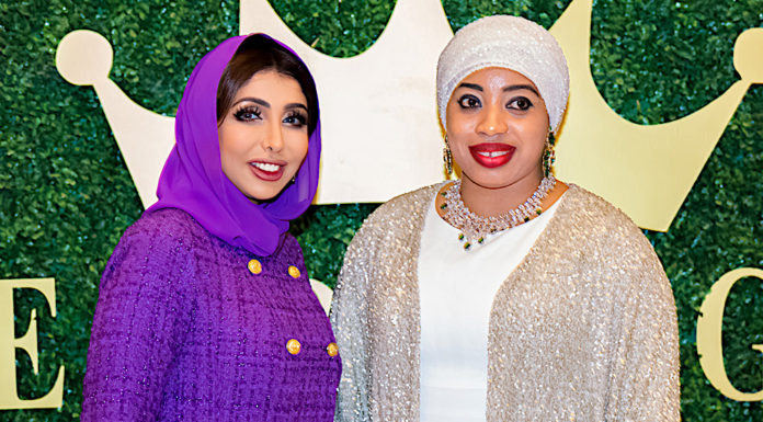 Sheikha Hend with Queen Zaynab of Nigeria