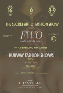 The Secret Art and Fashion Show