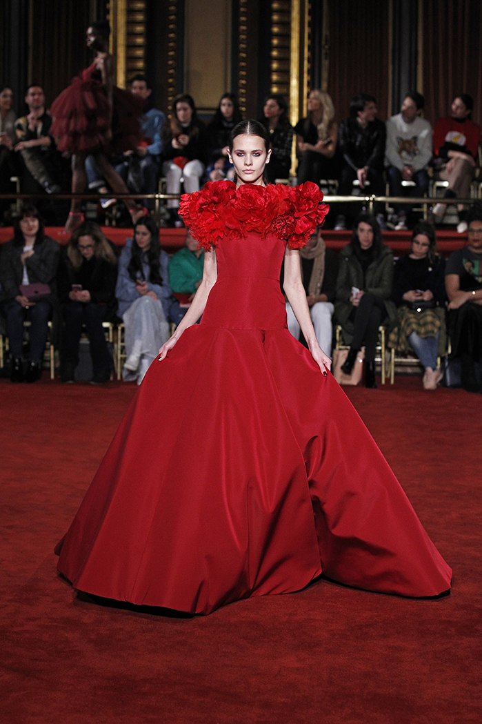 CHRISTIAN SIRIANO NEW YORK FASHION WEEK FW18 02/10/2018