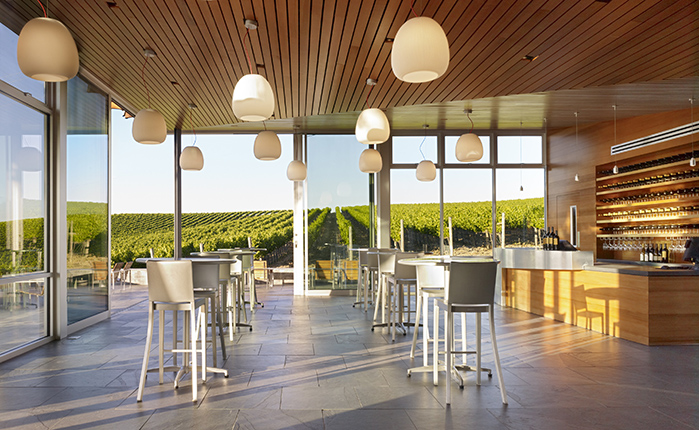 Cuvaison Tasting Room interior copy