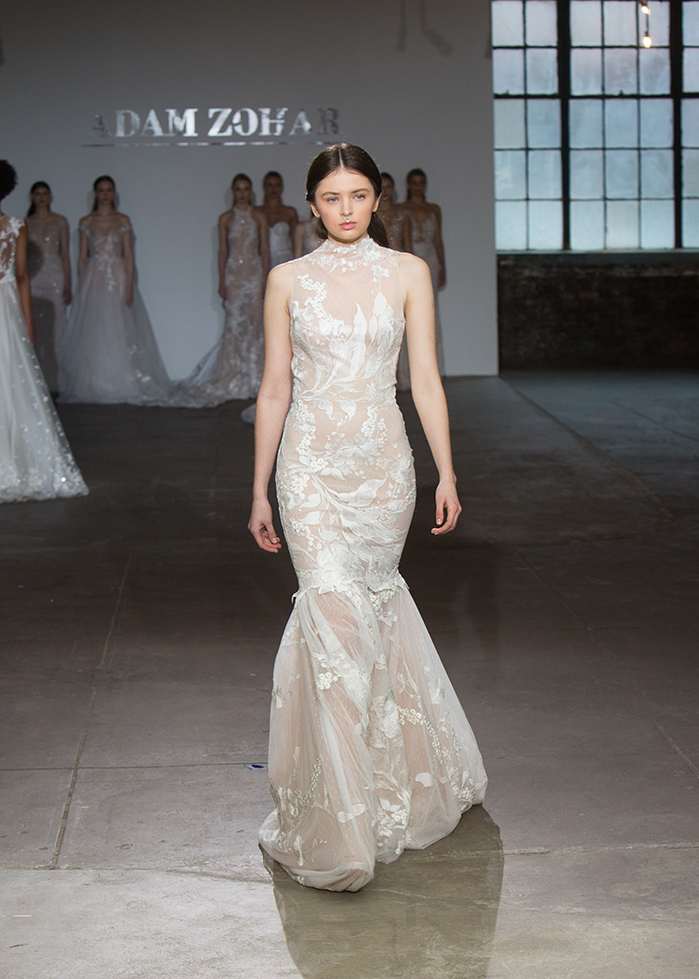 Look 24 Julie in the Lina Dress 1015