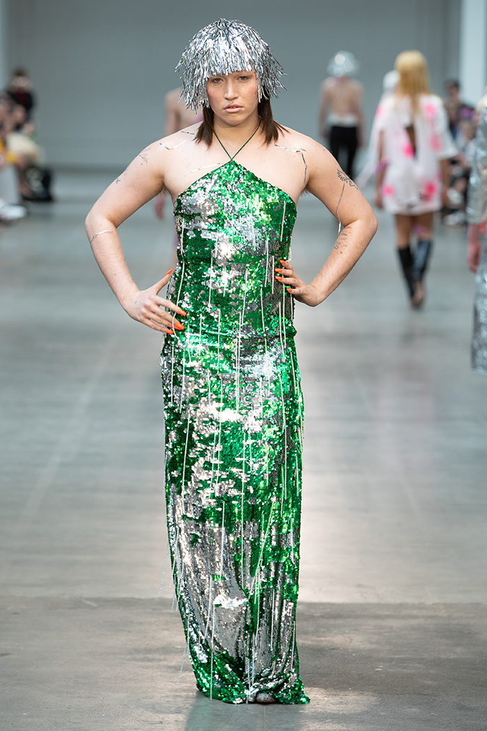 London Fashion Week Mens Sring Summer 2019 - Fashion East MAN Art School London