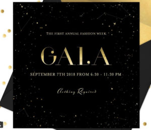 The Fashion Week Gala