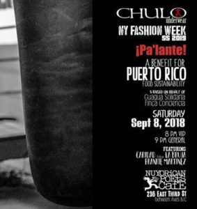 CHULO Underwear NYFW: ¡Pa'lante! A Benefit for Puerto Rico