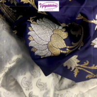 Buy latest collection of Pure Indian Traditional Silk Sarees Online at Vijayalakshmi Silks