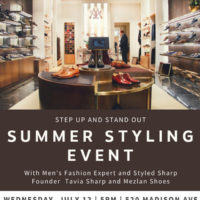 Men's Summer Styling Forum with Fashion Expert Tavia Sharp