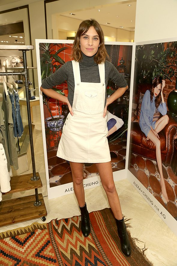 Neiman Marcus presents Alexa Chung for AG Personal Appearance on January 22, 2015 in Beverly Hills, California (Photo: Brandon Clark/ABImages)