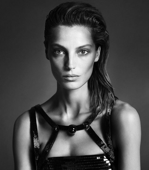 "The Insanely Beautiful DVF Girl Daria Werbowy (in what may have been fashion's first large-scale ""shoppable"" video)"
