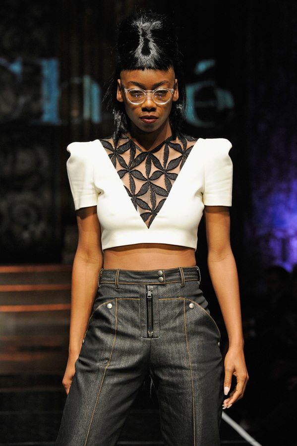 Elochee at Art Hearts Fashion NYFW The Shows Presented by AIDS Healthcare Foundation