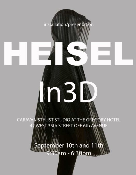 HEISEL in 3D at The Gregory Hotel Mezzanine