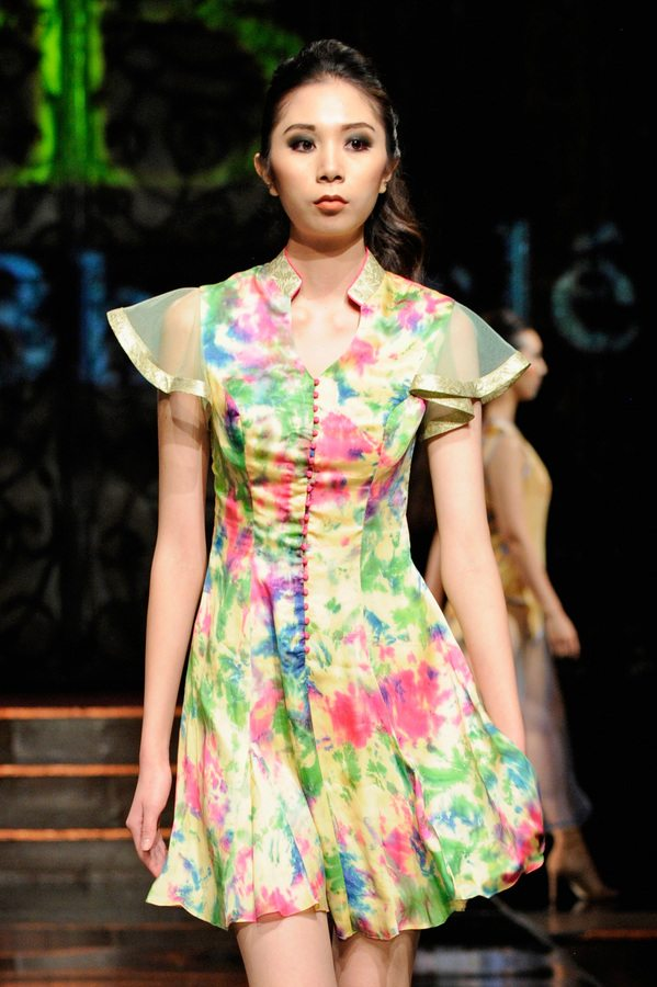 Rutu Bhonsle' at Art Hearts Fashion NYFW The Shows Presented by AIDS Healthcare Foundation