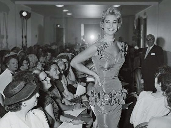 Early New York fashion show