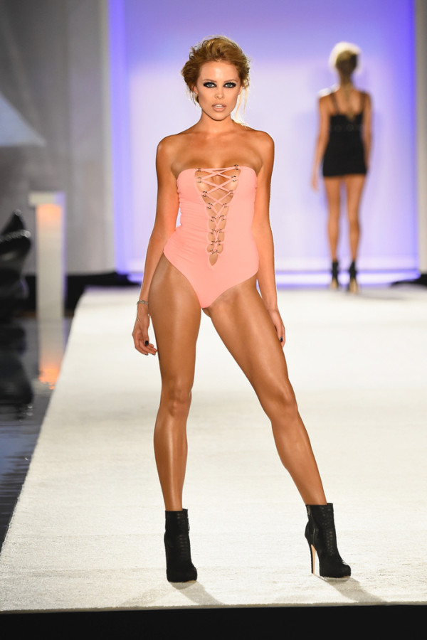Indah 2016 Collection at SWIMMIAMI - Runway