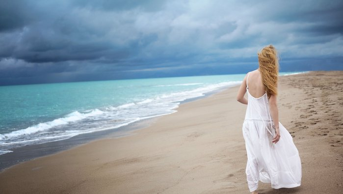 alone-girl-white-dress-girl-beach-sea-waves-loneliness