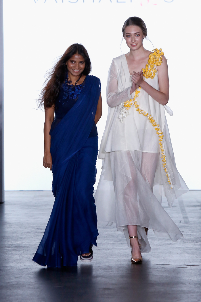 Vaishali S SS2018 - Runway - New York Fashion Week: First Stage