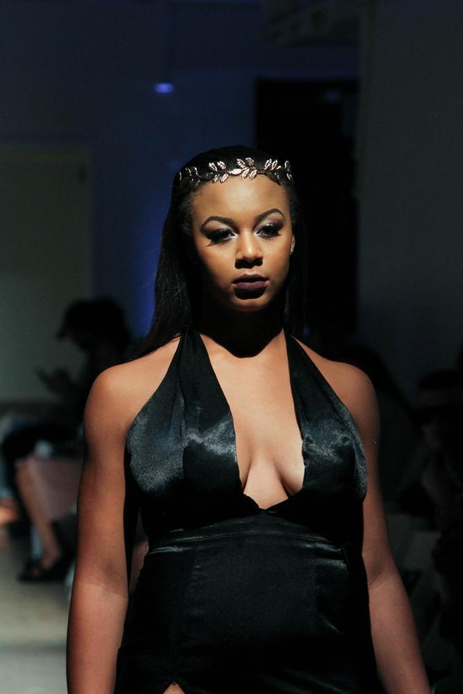 Nia Sioux Wearing Adonis King Collection