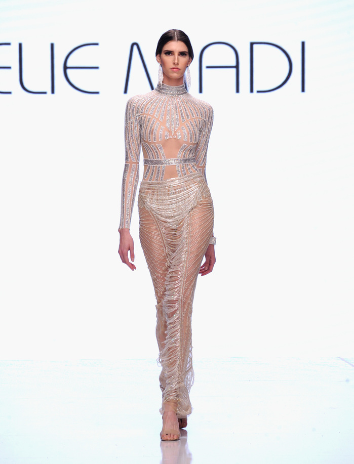 Elie Madi At Los Angeles Fashion Week SS18 Art Hearts Fashion LAFW