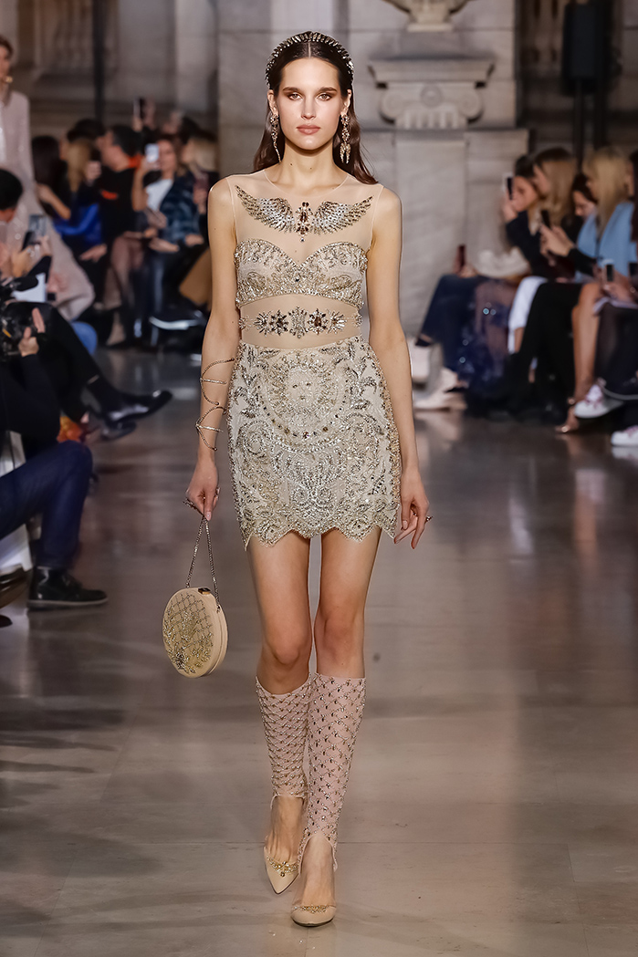 ea97bbe2 George Hobeika Couture Spring Summer 2018 Collection Paris Fashion Week