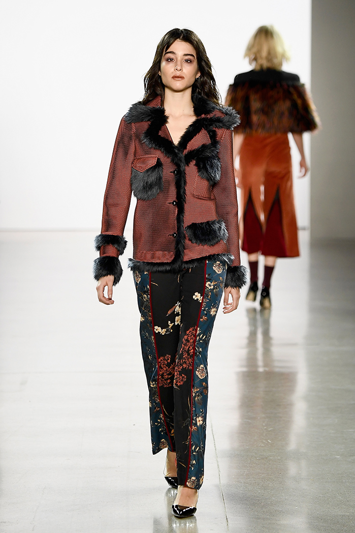 Vivienne Hu Fall Winter 2018 New York Fashion Week Runway Show