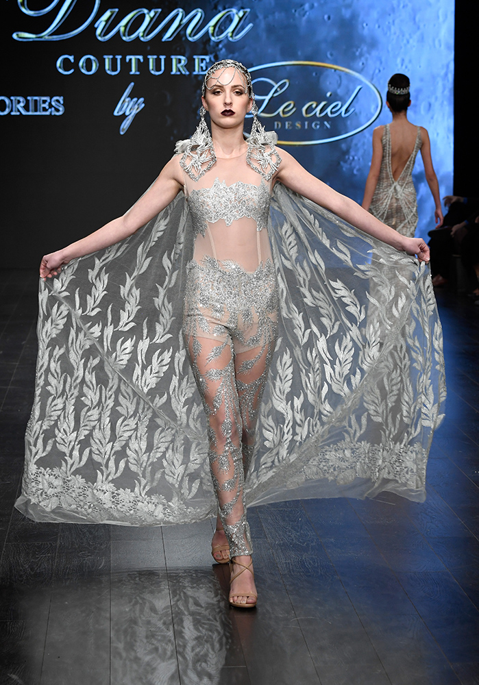 Diana Couture at Los Angeles Fashion Week Powered by Art Hearts Fashion LAFW FW/18 10th Season Anniversary