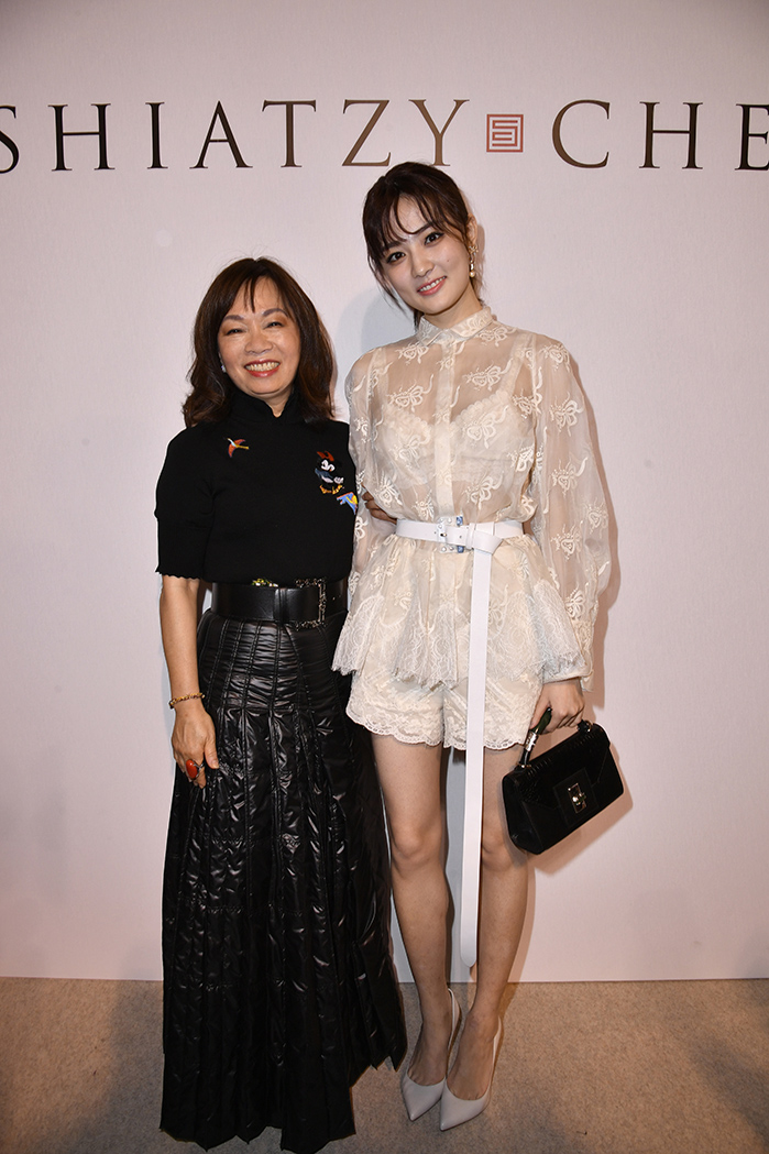 ShiatzyChen brand director Madame Wang_Actress Xu Lu