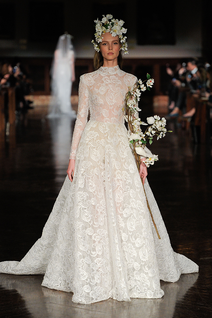 Reem Acra, Bridal Fashion Week, Spring 2019, New York City, April 12 2018