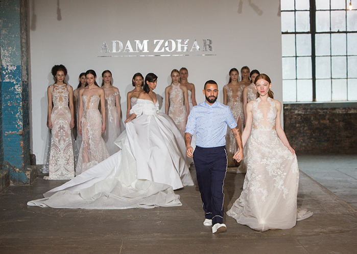 Look 29 Adam Zohar With Agnes and models