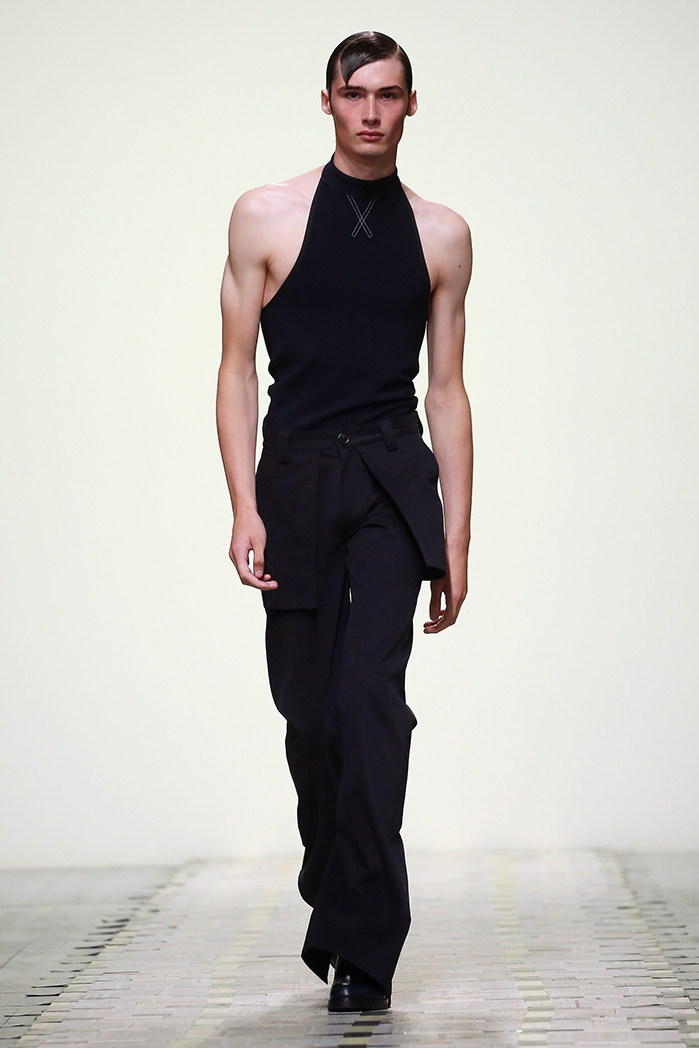 Daniel W. Fletcher Catwalk - London Fashion Week Men's SS19
