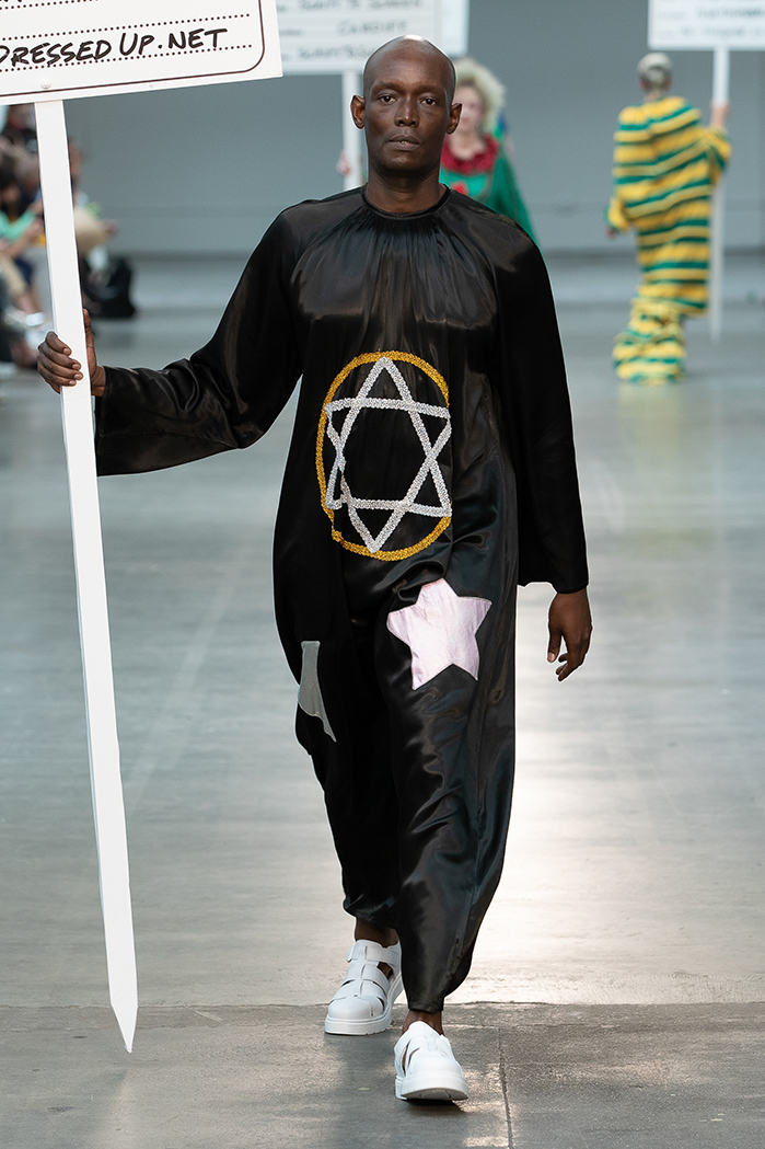 London Fashion Week Mens Sring Summer 2019 - Fashion East MAN Rottingdean Bazaar