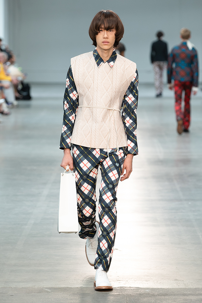 London Fashion Week Mens Sring Summer 2019 - Fashion East MAN Stefan Cooke