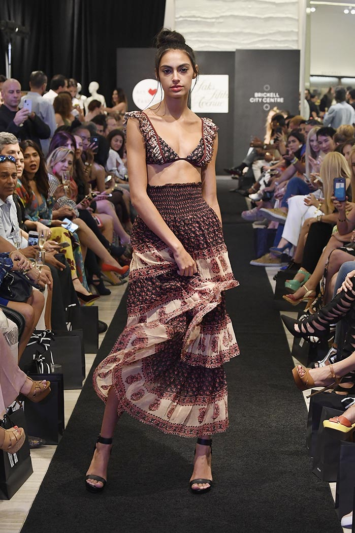 Zimmermann At Miami Swim Week Powered By Art Hearts Fashion At Saks Fifth Avenue