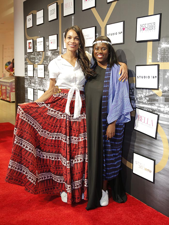STYLE360 Hosts Studio 189 By Rosario Dawson And Abrima Erwiah